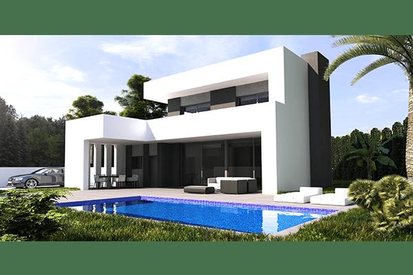Proyecto de construcci n en baladar benissa ref mp012 for Piscina marva