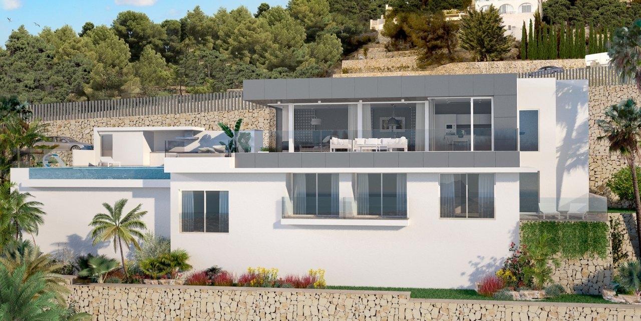 Villa en venta con vistas panor micas al mar ref mp006 for Piscina marva