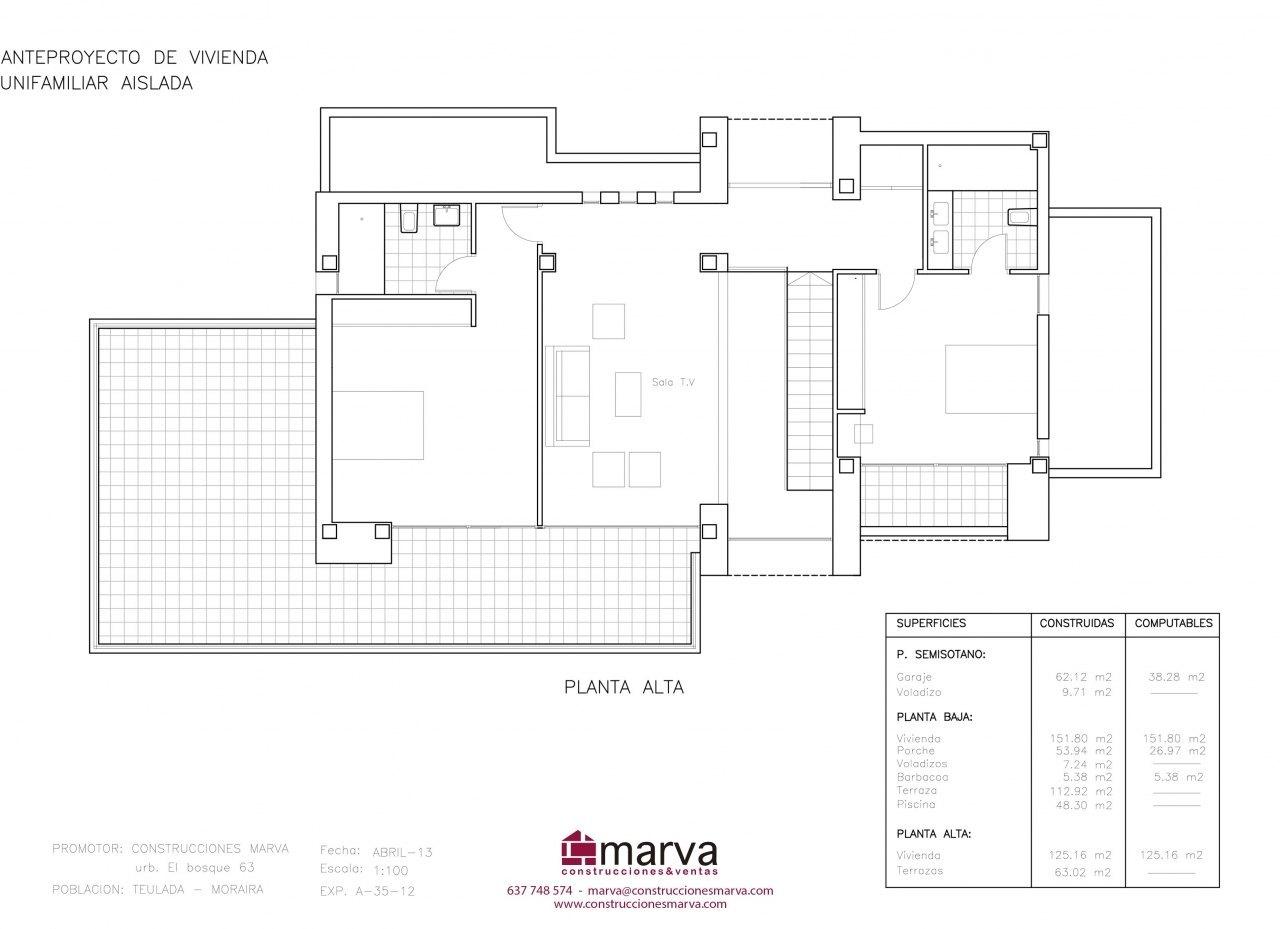 Villa en venta con vistas al mar en moraira ref mp008 for Piscina marva