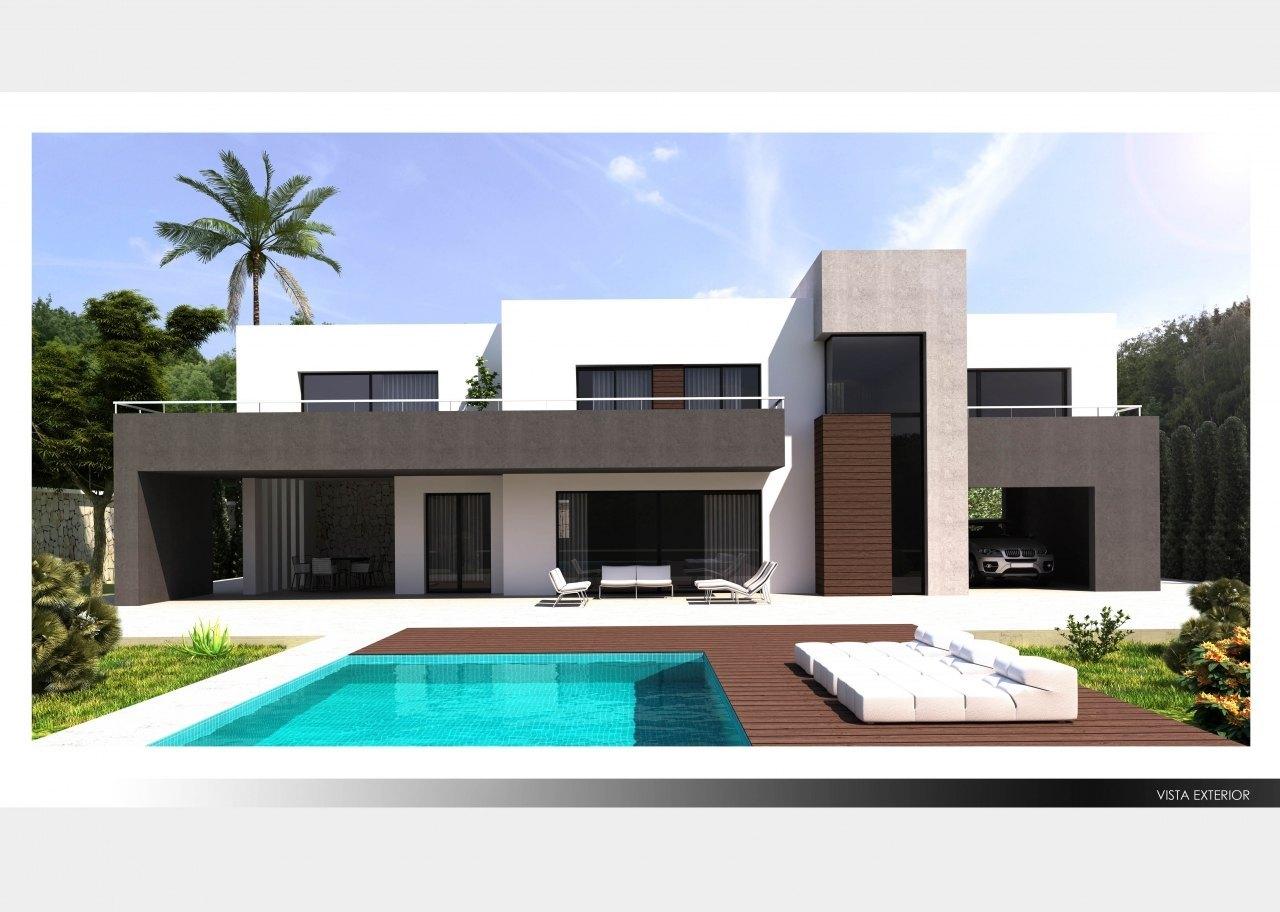 Villas modernas en venta en moraira y benissa ref mp005 for Piscina marva